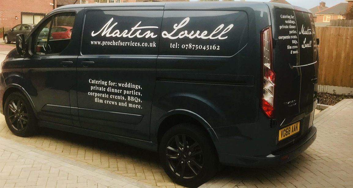 Martin Lovell Chef Van
