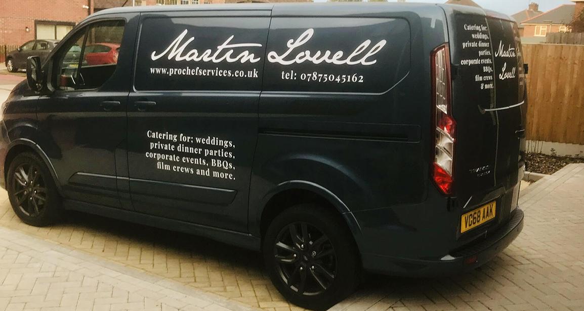 Martin Lovell Chef Van